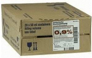 Fresenius Kochsalzloesung 0,9% Freka-fl. (20 x 50 ml)