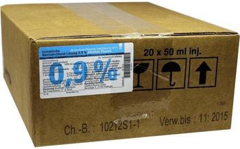Deltaselect Kochsalzloesung 0,9% Inj.-fl. (20 x 50 ml)
