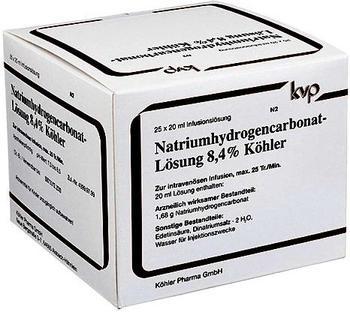Köhler Pharma Natrium Hydrogencarbonat 84% (25 x 20 ml)