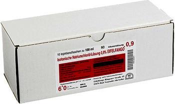 Eifelfango ISOTONISCHE NaCL 0,9 % Infusions-Lsg. (10 x 100 ml)