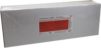 Eifelfango Isotonische Kochsalz-Lösung 0.9 % (5 x 250 ml)