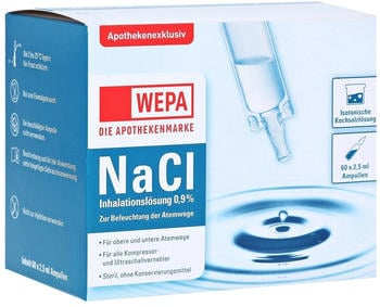 Wepa Nacl 0,9% Inhalationslösung (60x2,5ml)