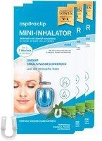 aspUraclip Mini-Inhalator relax 3er-Set