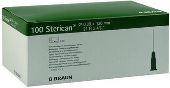 B. Braun Sterican Kanuelen 21Gx4 4/5 0,8 x 120 mm (100 Stk.)