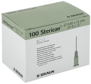 B. Braun STERICAN Ins.Einm.Kan.27Gx1/2 0,40x12 mm (100 Stk.)