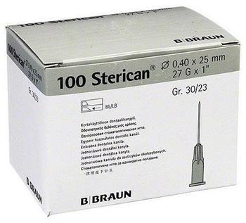 B. Braun Sterican Dentalkan.Luer 0,40X25 (100 Stk.)