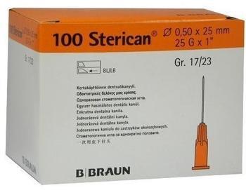 B. Braun Sterican Dentalkan.Luer 0,5X25 (100 Stk.)