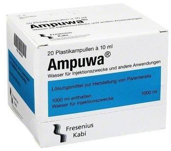 Fresenius Ampuwa Plastikampullen (20 x 10 ml)