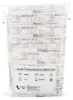 Fresenius Spritzen Einmal 20 ml Steril