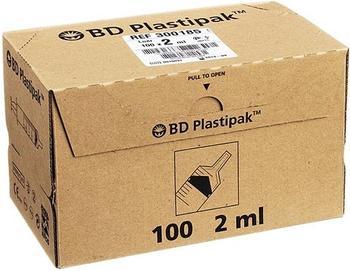 Becton Dickinson Bd Plastipak Spezialspr.M.Luer-Ansatz 100 x 2 ml