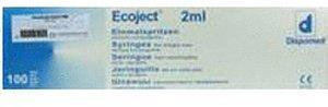 Dr. Junghans Medical Spritzen Einmal Lür Ecoject 100 x 2 ml