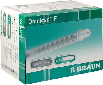 B. Braun Omnican F 1 ml Feindosierungspritzen 30 g x 12 mm (100 Stk.)