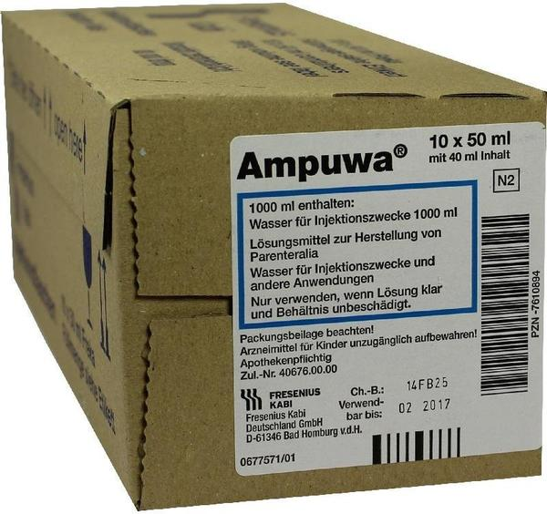 Fresenius Ampuwa 50 ml Frekaflasche Injektion-Fl. (400 ml)