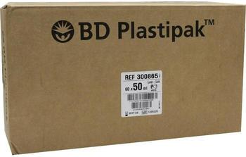 Becton Dickinson Bd Plastipak Spezialspr.M.Luer-Lok Zentr. 60 x 50 ml
