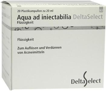 Deltaselect Aqua Ad Iniectabilia Plastik Amp. (20 x 20 ml)