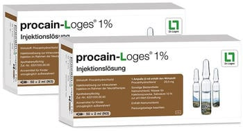 Dr. Loges Procain Loges 1% Ampullen (100 x 2 ml)
