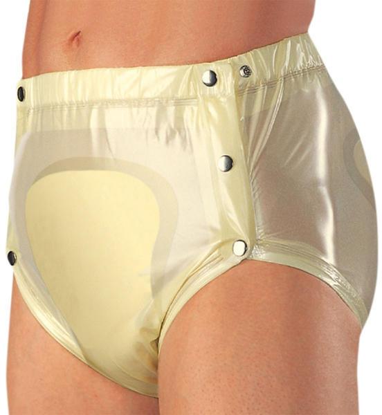 Suprima PVC Slip 1249 knöpfbar weiß