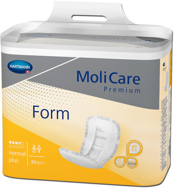 Hartmann MoliCare Premium Form normal plus (4 x 30 Stk.)