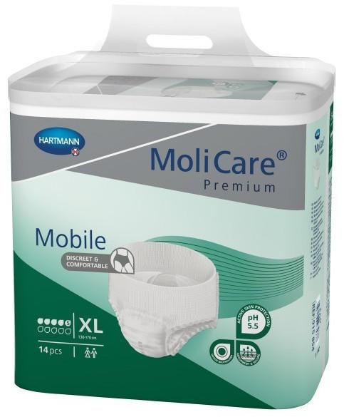 Hartmann MoliCare Premium Mobile 5 Tropfen Gr. XL (4 x 14 Stk.)