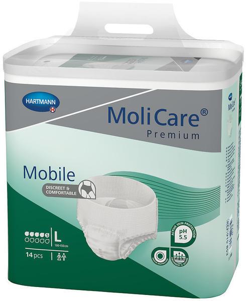 Hartmann MoliCare Premium Mobile 5 Tropfen Gr. L (4 x 14 Stk.)
