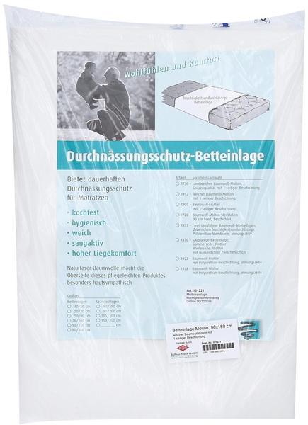 Büttner-Frank Betteinlage Molton 90 x 150 cm
