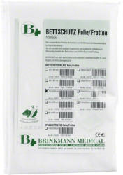 Dr. Junghans Medical Bettschutzeinlage Folie Frottee 70X100Cm