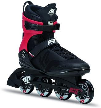 K2 F.I.T. 80 PRO Inline Skates, Schwarz, 9.5 US