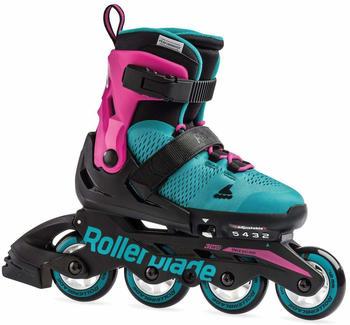 Rollerblade MICROBLADE G Inline Skate 2019 pink/emerald/green 36.5