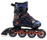 Fila Jungen Wizy Alu Inline Skate schwarz/Rot/Blau 32-35