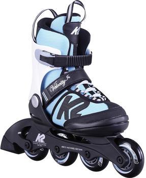 K2 Kinder Inlineskates Velocity Jr girls light blue 32-37