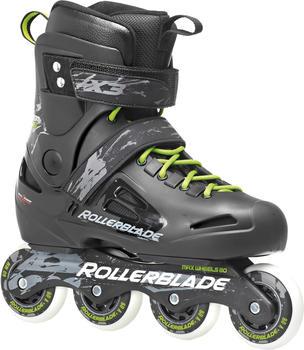 Rollerblade Fusion X3 schwarz/grün Größe 44