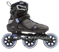 Rollerblade Damen Sirio 100 3WD W Inline-Skate, Grey/Lilac, 235
