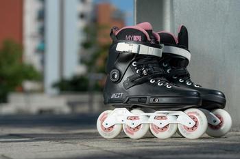 Powerslide Inlineskates Next Rose 80 schwarz Damen Inlinern Skaten Sportarten