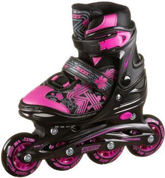ROCES Jokey 3.0 Girl Inline-Skates, black-pink, 26/29