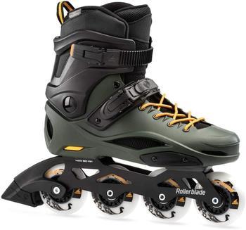 Rollerblade RB 80 Pro Skates schwarz, Erwachsene, Unisex, Black/Dark Green, 260