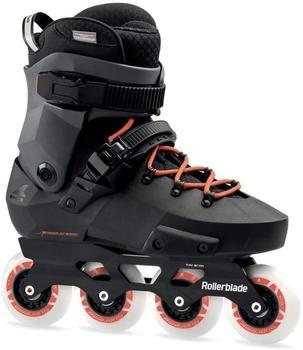 Rollerblade Twister Edge Skates Schwarz, Erwachsene, Unisex, black/warm red 300