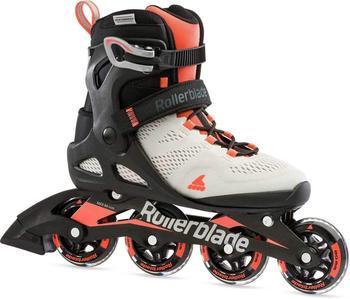Rollerblade Damen MACROBLADE 80 W Inline-Skate, Gletscher GRAU/Koralle, 275