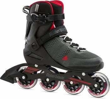 Rollerblade SPARK 84 Inline Skate 2021 dark grey/red - 46