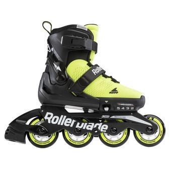 Rollerblade Microblade SE Inlineskates Neongelb/Schwarz 23