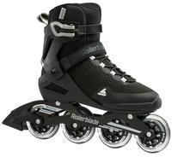Rollerblade Sirio 84 Inline-Skate, Nero/Bianco, 44 EU