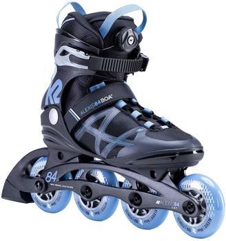 K2 ALEXIS 84 BOA Inline Skate 2021 black/blue - 36