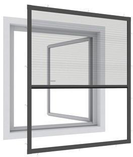 Windhager Plissee EXPERT 100 x 120 cm anthrazit (03243)