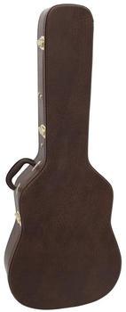 Dimavery Form-Case Western-Gitarre braun