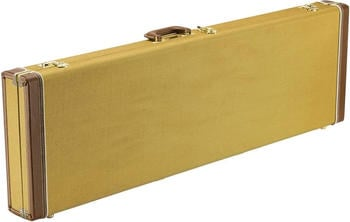 Fender Classic Series Bass Wood Case - Jazz Bass/Precision Bass - Tweed