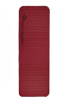 Sea to Summit Comfort Plus Self Inflating Mat (rec, Large, red)