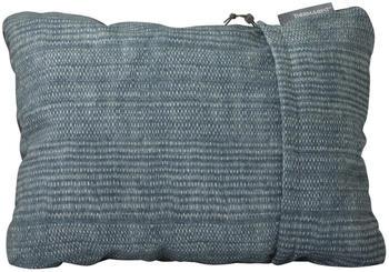Therm-a-Rest Compressible Pillow Medium blue woven dot