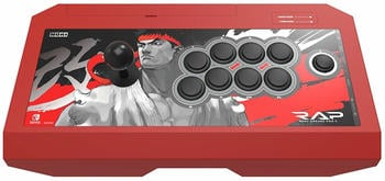 Hori Nintendo Switch Real Arcade Pro V Street Fighter II Ryu Edition