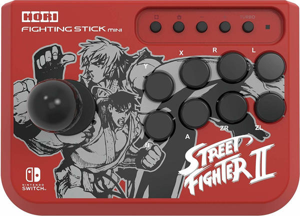 Hori Nintendo Switch Fighting Stick Mini Street Fighter II Ryu & Ken Edition