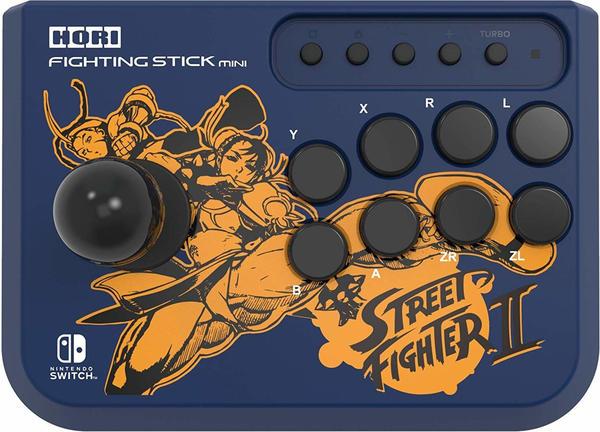 Hori Nintendo Switch Fighting Stick Mini Street Fighter II Chun-Li & Cammy Edition