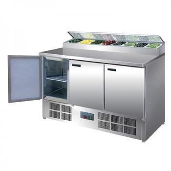 Polar gekühlte Saladette und Pizzatisch 390 Liter 5050984131912 (G605)